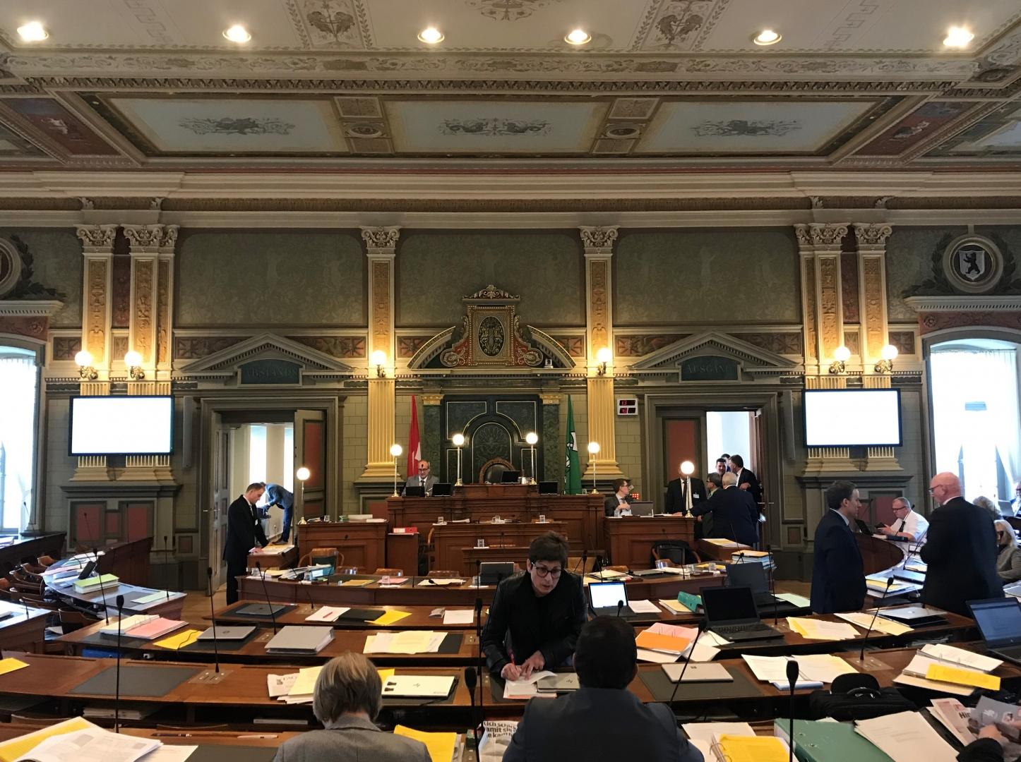 Session Kantonsrat – 17. bis 19. Februar 2020